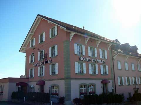 Hotel Restaurant Hôtel-de-Ville, Attalens