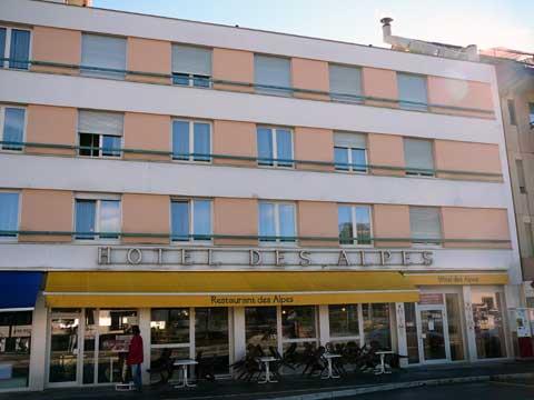 Hotel des Alpes, Bulle