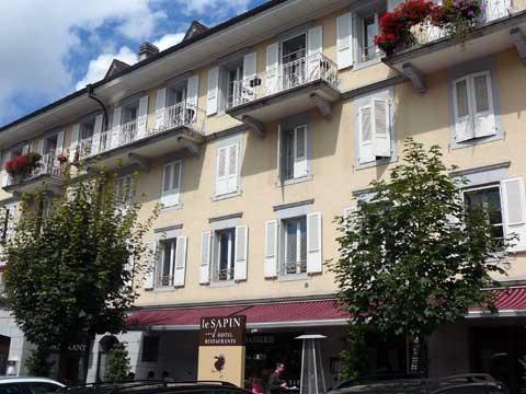 Hotel Le Sapin, Charmey