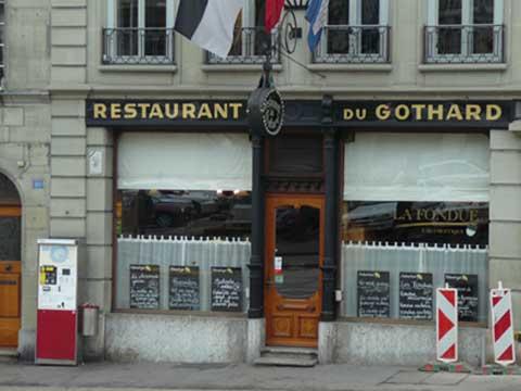 Café du Gothard, Fribourg