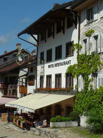 Hotel de Ville, Gruyere