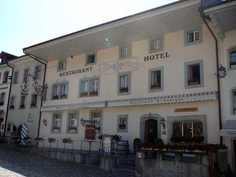 Hostellerie St-Georges - Gruyeres