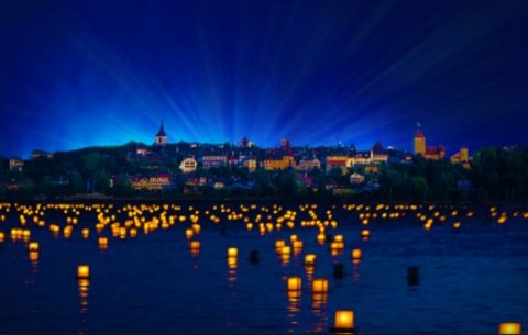 Murten Morat Light Festival,