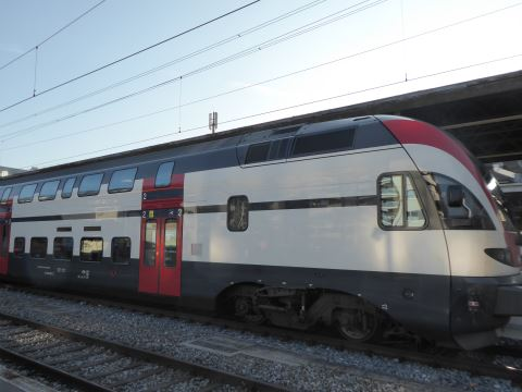 Swiss Train Fribourg
